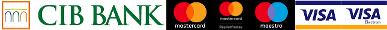 CIB Bank és kártya logók